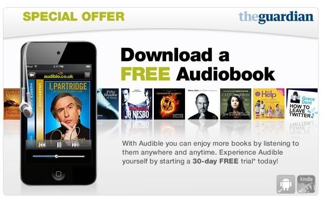 Аудиокниги от Audible