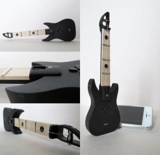 миниатюрная гитара-ручка