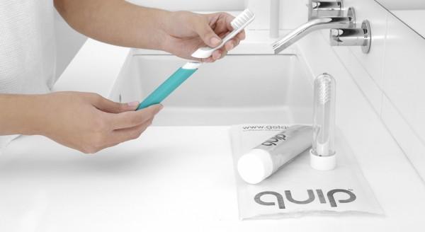 зубная щетка Quip
