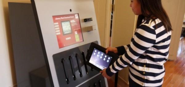 автомат для аренды iPad