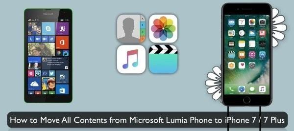 Lumia на iPhone
