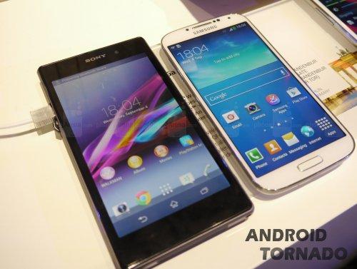 Sony Xperia Ion против Samsung Galaxy S III