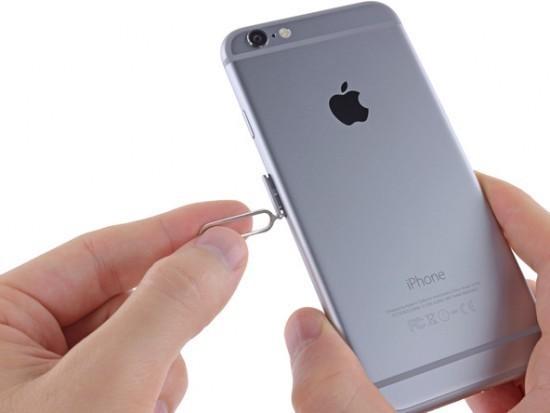 поменять SIM карту на iPhone