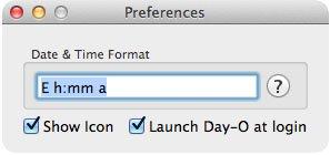 календарь для mac