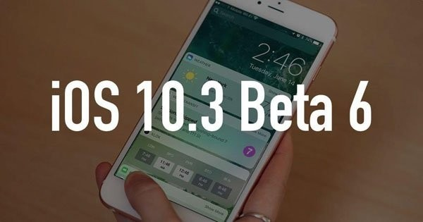 iOS 10.3 Beta 6