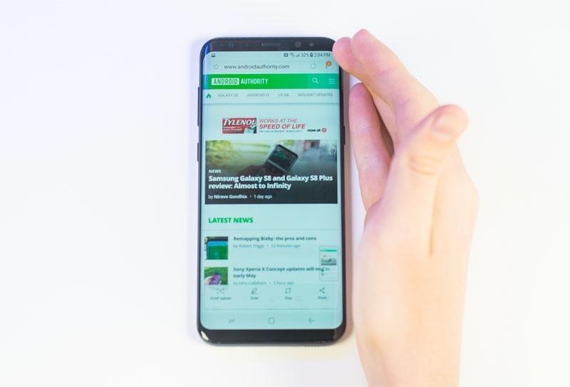 программная оболочка Galaxy S8