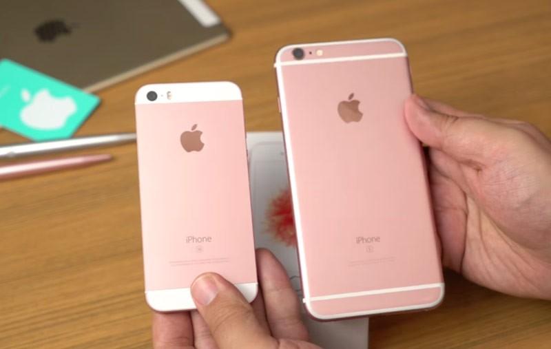 iPhone «розовое золото»