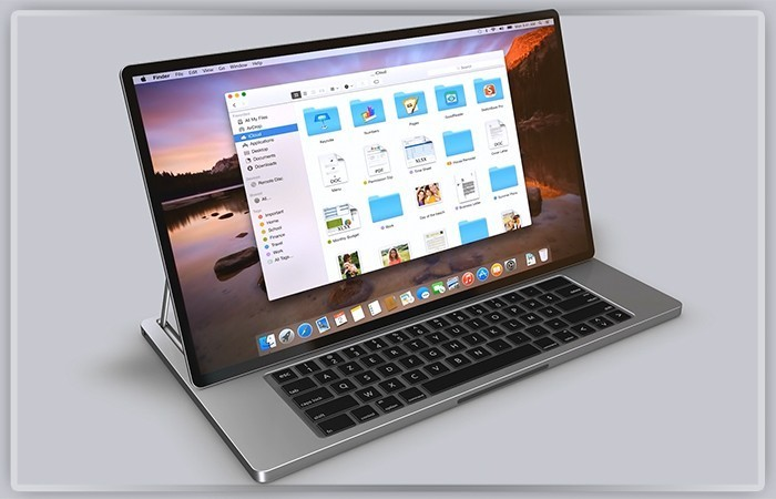 MacBook с macOS Touch