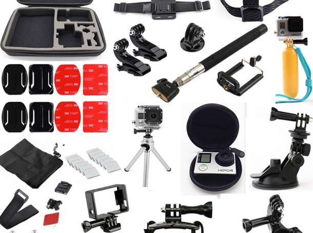 Аксессуары для экшн камер GoPro