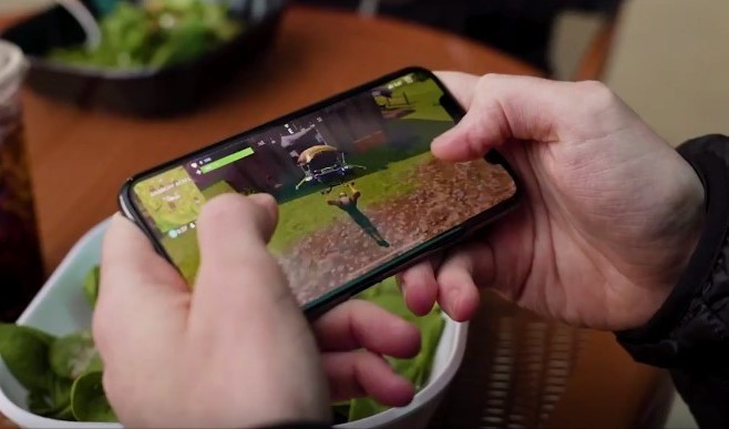 Мобильная версия Fortnite